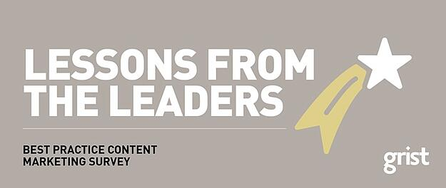 Thought Leadership Survey 2017 - Best practice B2B content marketing
